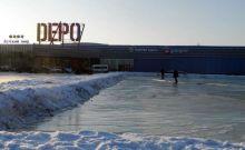 У Depo на Свердловском шоссе зальют бесплатный каток
